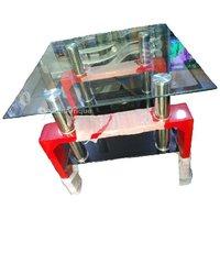 Table vitrée