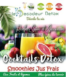 Cocktails de fruits et de légumes