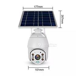 Mini camera solaire