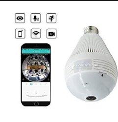 Ampoule caméra wi-fi enregistreur vidéo audio