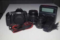 Appareil photo Canon 60D - objectifs Canon 50 mm