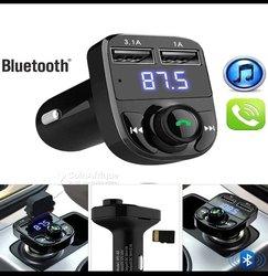 Kit main libre radio lecteur Mp3 bluetooth véhicule