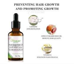 Huile essentielle chutes de cheveux / calvitie