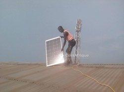 Technicien en installation paraboliques et solaires