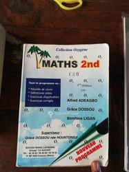 Livre Mathématique 2nd