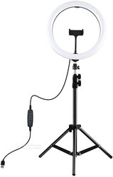 Triepied plus ring light lumineux / 10""