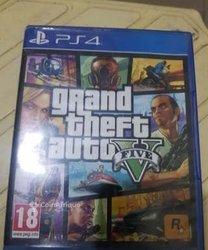 CD GTA  5 PS4