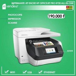 Imprimante jet