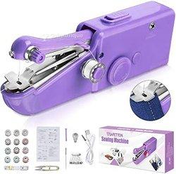 Mini machine à coudre électronique manuelle