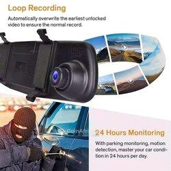 Rétroviseur avec caméras de recul pour véhicules