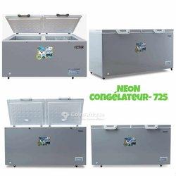 Congélateur horizontal commercial 725litres deux battants