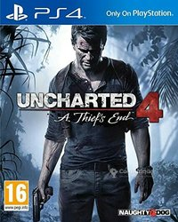 PlayStation 4 CD Uncharted 4