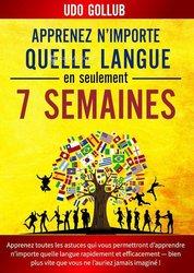 Livre Apprenez n'importe quelle langue en seulement 7 semaines