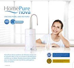 Filtre à eau avec système ultrafiltration