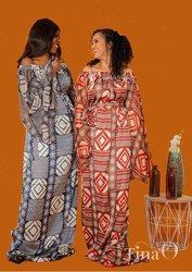 Robes en soies