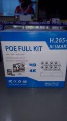 Kit de 8 Camera ip Poe
