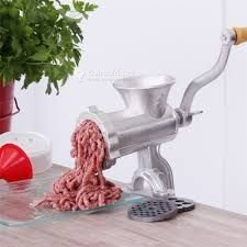Hachoir à viande en aluminium