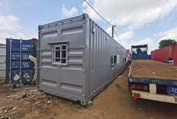 Bureau modulaire en conteneur aménagé