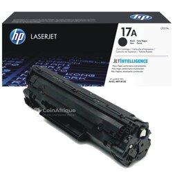 Encre toner laser jet 17A HP