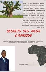 Livre: secrets des aïeux d'afrique