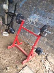 Support poids avec poids 50kg