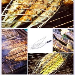 Grille à barbecue  - panier multiforme