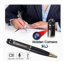Stylo avec caméra espion hd enregistreur vidéo et audio