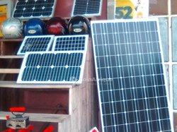 Panneau solaire   - machine à coudre