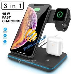 Wireless charger 3 en 1