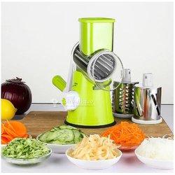 Coupe-légumes manuelle multifonctionnelle avec râpe en acier inoxydable