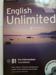 Livre de cours  english unlimited b1