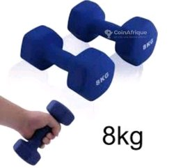 Haltères  -  8 kg