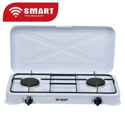 Réchaud à gaz 2 feux Smart Technology