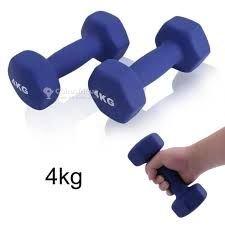 Paire d'haltères 4 kg