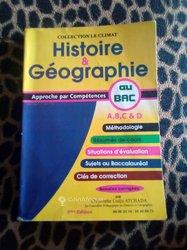 Livre d'histoire géographie