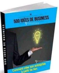 Livres 500 idées entreprendre