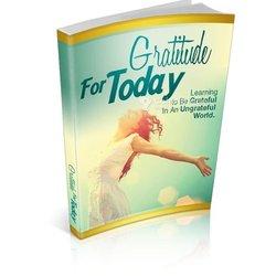 Livre numérique imprimable Gratitude for today ebook