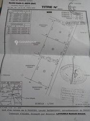 Terrains 1500 m²  - Allada