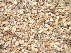 Graviers et sable