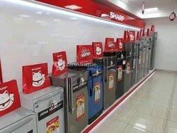 Réfrigérateur et congélateur Sharp