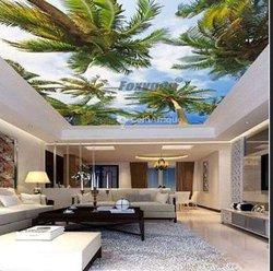Plafond panel 3D et sol 3D