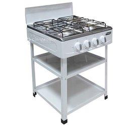 Smart Technology cuisiniére avec etagère - gaz 4 feux stc-507