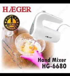 Batteuse à main haeger hg-6680
