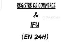 Création de registre de commerce