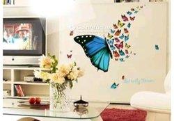 Autocollant papillon