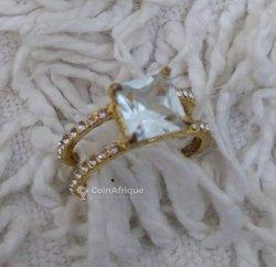 Bague de fiançailles en or