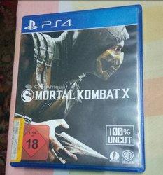CD Mortal Kombat X Playstation 4