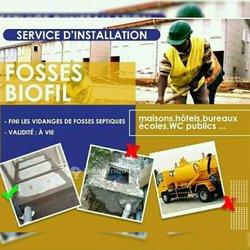 Réalisation de fosses biofil