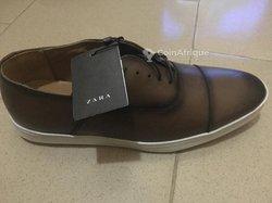 Chaussures cuir Zara