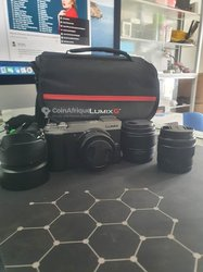 Panasonic lumix gx9 4k à 3 objectifs